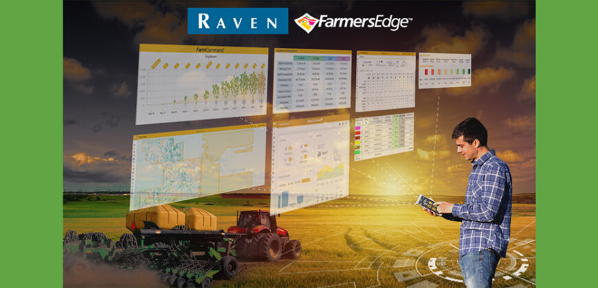 Raven and Farmers Edge to develop new precision agriculture technologies