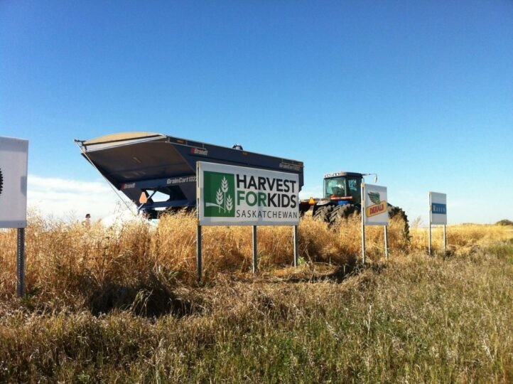 Raven Participates in Harvest for Kids